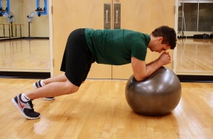 SkiFit Ball Plank